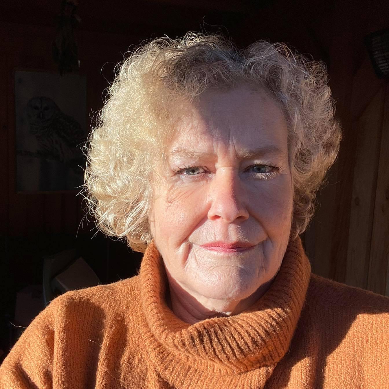 Gerda Greutink presentatrice 'Op de Bank'